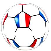 BALLON A GONFLER FOOT FRANCE 25CM