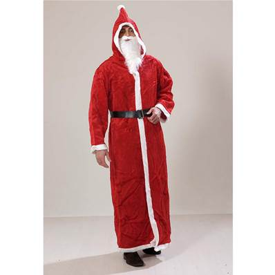 COSTUME PERE NOEL MANTEAU LUXE