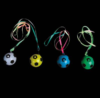 48 COLLIERS LUMINEUX BALLE FOOT