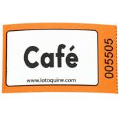 ROULEAU DE 1000 TICKETS CAFE