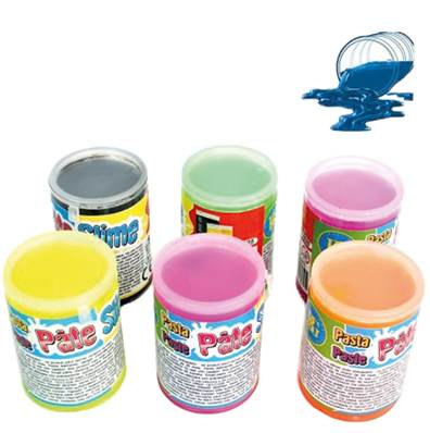 12 PATES SLIME BARIL FLUO 120g